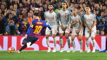 THAT Lionel Messi Free Kick From Every Angle And With Fan Reactions
