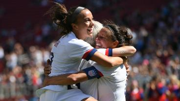USWNT Blanks South Africa 3-0 To Begin Send-Off Series