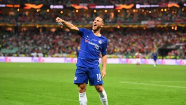 Eden Hazard Says Goodbye To Chelsea With A Masterclass Europa League Final