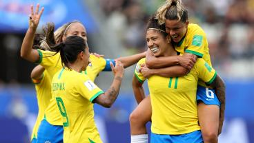 Brazil Is Old But Gold, As Evidenced By Cristiane's Brilliant Hat Trick