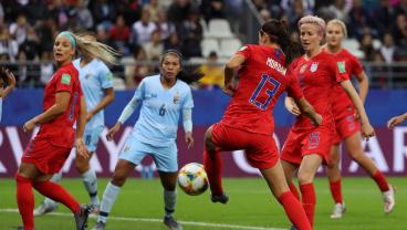 USWNT Uses Opener To Experiment With Idea Of Putting Every Player In Attack