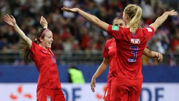 USWNT Getting Heat For Scoring Goals And Celebrating Joyfully At A World Cup