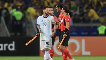 Lionel Messi Was Mad As Hell Following Argentina's Copa América Exit