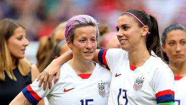 Rapinoe And Morgan Shocked By Judge's Decision, But They Vow To Continue The Fight