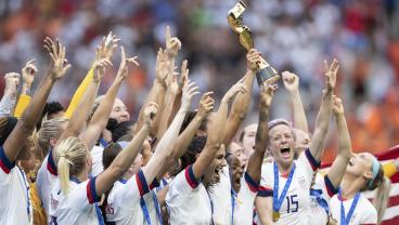 Women's World Cup Final Viewing Numbers Up 20% On Last Summer's Men's World Cup Final