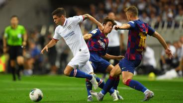 Christian Pulisic Shines During Chelsea's Preseason Victory Over Barcelona