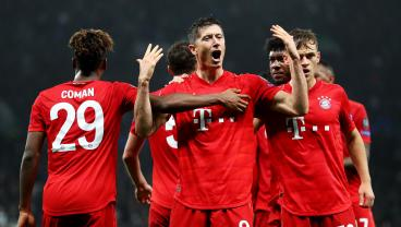 Robert Lewandowski Continues To Score In Every Match For Bayern Munich
