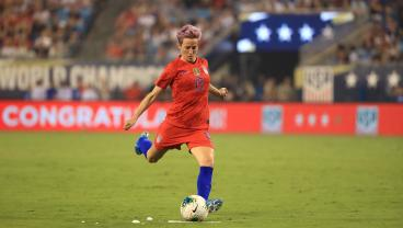 Megan Rapinoe Inspired Nike Cleats Are Pretty In Pink, Just Like Her Hair