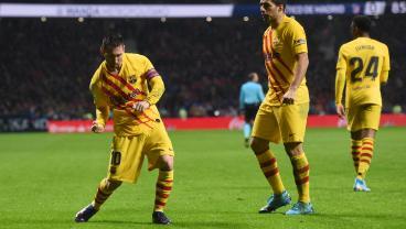 Messi And Suárez Combine For Magical Winner Vs. Atlético Madrid