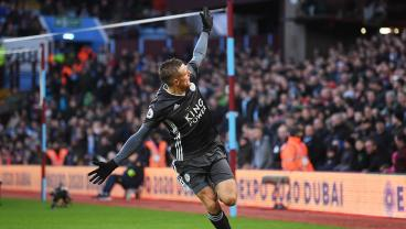 Jamie Vardy Continues To Be The Planet's Best Goalscorer Not Named Messi