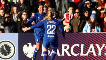 Sam Kerr Opens Her Chelsea Account In 4-1 Hammering Of Arsenal