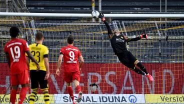 Joshua Kimmich's Delicate 20-Yard Chip Puts Bayern On Cusp Of Bundesliga Title