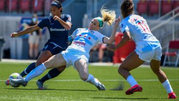 Julie Ertz Shines, But NC Courage Get Last Laugh In Championship Rematch