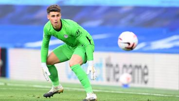 Kepa Continues To Be The World's Most Entertaining Goalkeeper