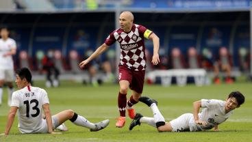 Iniesta Sends Another Chinese Super Club Packing In Magical Champions League Run