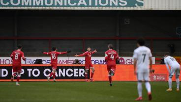 FA Cup: Crawley Town Stuns Leeds United; Chelsea And Manchester City Ease Through