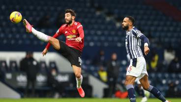 Bruno Fernandes Stunner Can't Save Sluggish Man United From Draw At Lowly West Brom