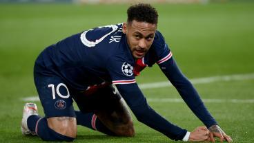 Neymar finishing