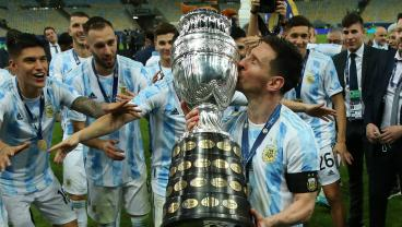 Messi Played Through Injury In Copa América Final, Reveals Argentina Manager