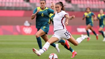 USWNT vs Australia Olympics