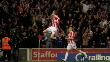 OTD In 2012: Peter Crouch Worldy Stuns Manchester City