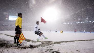 5 Games That Were Played In Diabolical Weather Conditions