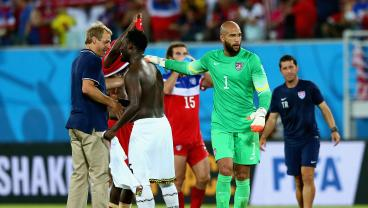 Jürgen Klinsmann Did Not Want To Start Tim Howard Vs. Belgium At 2014 World Cup