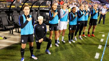 U.S. Soccer Considers Removing Ban On Kneeling During National Anthem