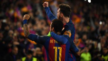 Neymar Is Brought To Tears While Discussing Messi's Influence On His Career
