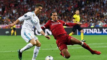 Virgil van Dijk vs Cristiano Ronaldo