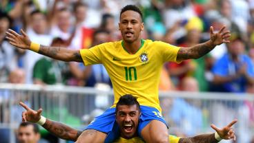 Mexico Feel The Full Effect Of Neymar In World Cup Elimination
