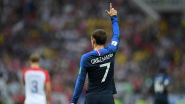 Griezmann Really Wants Some Finger Bling To Commemorate France's World Cup