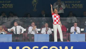 Who Is Unlikely World Cup Star Kolinda Grabar-Kitarović?