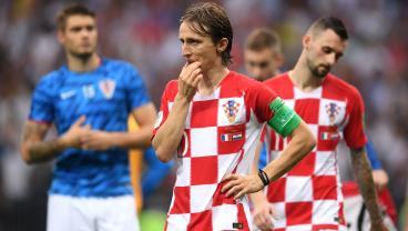 Luka Modric Wins Golden Ball After Croatia Outplays France