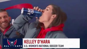 Kelley O'Hara Update: Still Slamming Budweiser