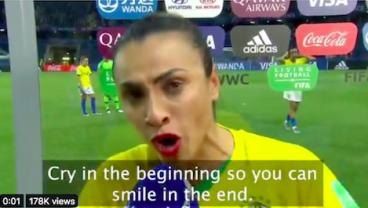 Marta Delivers Incredible Message To Next Generation Of Female Footballers During Postgame Interview