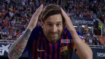 Messi Megs Defender, Exchanges Passes With Luis Suarez And Scores Incredible Golazo