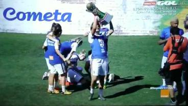Neymar's Charity Tournament Ends With Player Taking Trophy Directly To The Face
