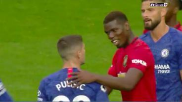Pretty Sure Pogba Told Pulisic He's The Best Player He's Ever Played Against