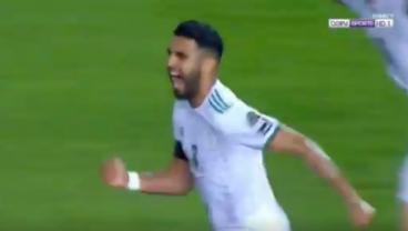Riyad Mahrez free kick