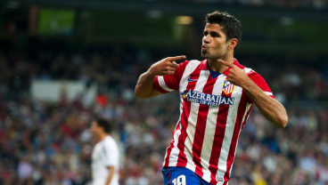 """Diego Costa, In Exuberant """"Screw You!"""" Phase Of Chelsea Break Up, Parties In Atletico Shirt"""
