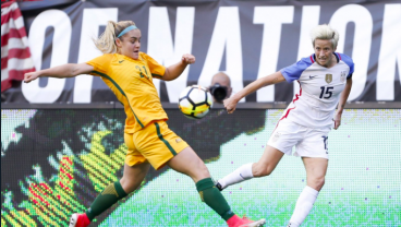 Australia Earn First-Ever Win Against USWNT