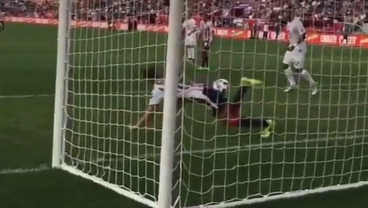 Watch This Chivas Defender's Absolutely Ridiculous Goal Line Save