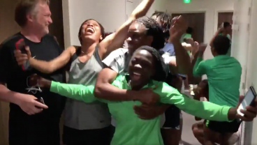 Nigeria's Reaction To Qualifying For Knockout Rounds Will Give You Chills
