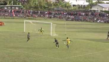 Solomon Islands League Produces One Of The Cleanest Volleys This World Has Ever Seen