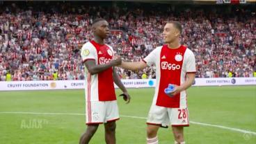18-Year-Old American Sergiño Dest Goes Full 90 In Ajax Senior Debut