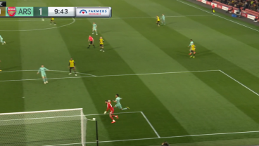 Ben Foster Commits An Absolute Howler Against Arsenal