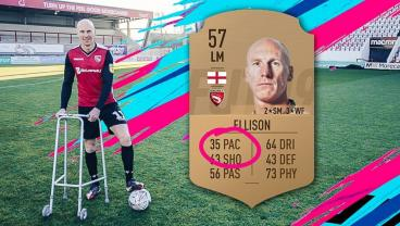 Morecambe's Kevin Ellison Disputes His Pace Rating In FIFA 19
