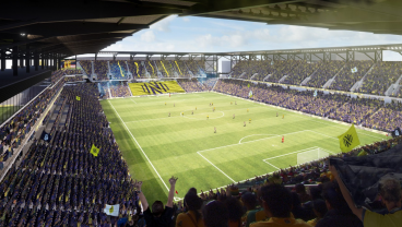 Nashville SC Released New Renderings For Its Soccer-Specific Stadium, But There's A Catch