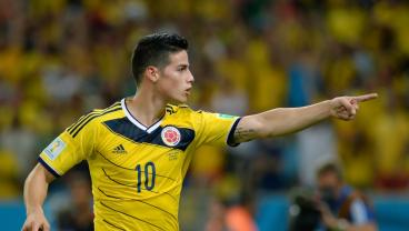 James Rodriguez Injury Update: Calf Injury Forces Star To Bench vs. Japan